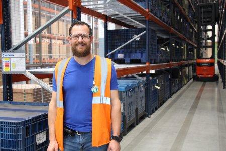 Michaël Hoffmann, responsable groupe Logistique