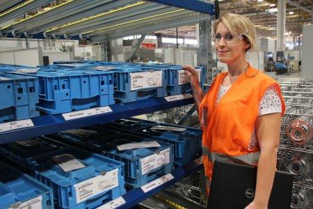 Sophie Hoehn, Responsable fonctionnelle Logistique