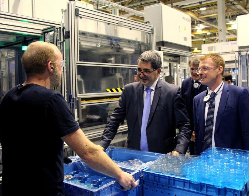 M. Jean Rottner en visite à PUNCH Powerglide Strasbourg