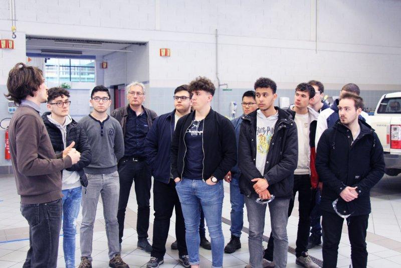 Visite entreprise, lycée Couffignal