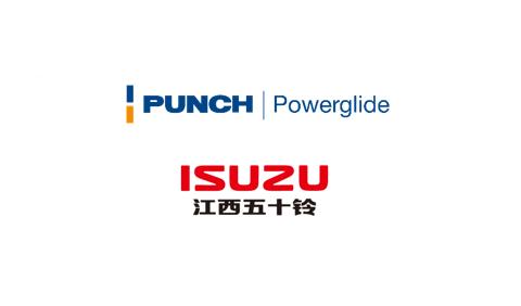 Logo PUNCH Powerglide et ISUZU